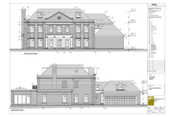 Eaton Park elevation